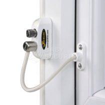 """Ограничитель открывания окон с ключом """"Jackloc"""", трос 20 см"""