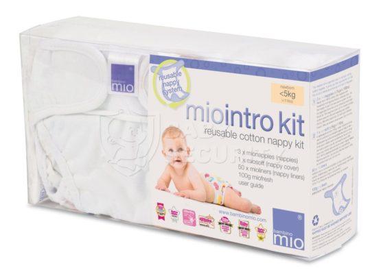 """Пробный комплект для новорожденных """"Intro"""", 0-5кг, Bambino Mio, арт.410"""
