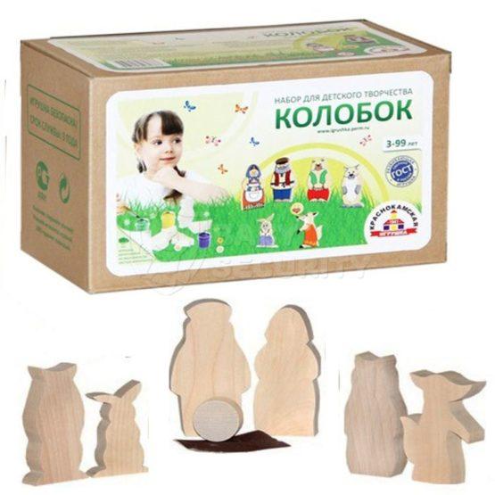 """Набор для детского творчества """"Колобок"""""""