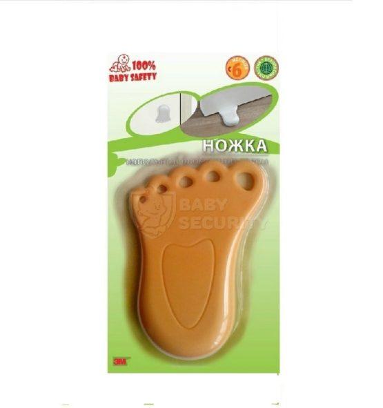 """Напольный блокиратор двери """"Ножка"""", Baby Safety, арт.BS0089"""