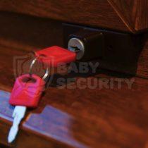 """Блокиратор под створку """"Baby Safe Lock"""", BSL, коричневый, арт.100k"""