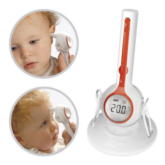 Цифровой термометр 3 в 1