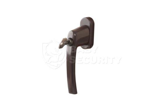 Ручка с ключом INTERNIKA, штифт 35 мм, коричневая