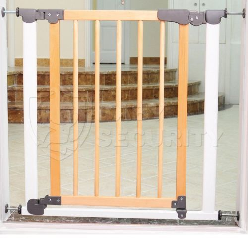 Ворота безопасности с деревом AUTO 77-83,5(125)см, Safe&Care, арт.320-04