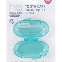 "Зубная щетка на палец ""Tooth Care"" в пенале, арт.20008"