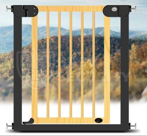 Ворота безопасности Baby Safe, 76-83см, арт.006Black