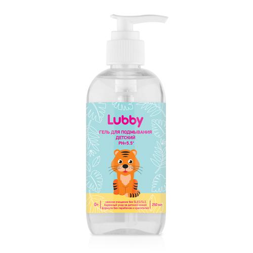 Гель для подмывания детский PH=5.5, Lubby