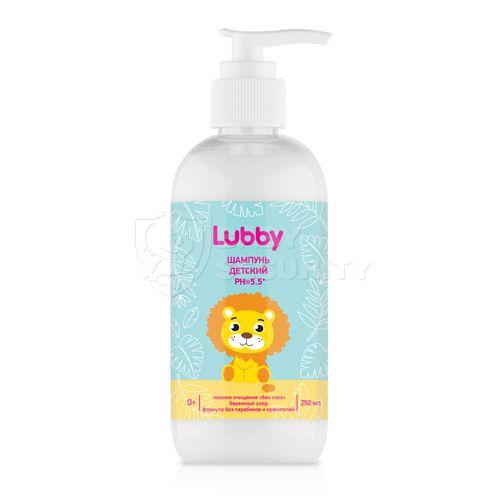 Шампунь детский PH=5.5, Lubby, арт.20578