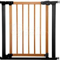 Ворота безопасности с деревом МЕХАНИКА 77-83,5см, Safe&Care, арт. 340