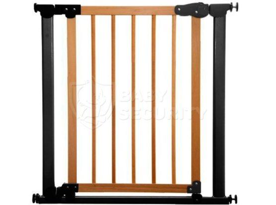 Ворота безопасности с деревом МЕХАНИКА 77-83,5(125)см, Safe&Care, ГРАФИТ, арт.340-03