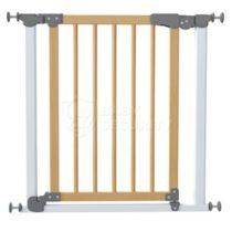 Ворота безопасности с деревом МЕХАНИКА 77-83,5(125)см, Safe&Care, БЕЛЫЕ, арт.340-01