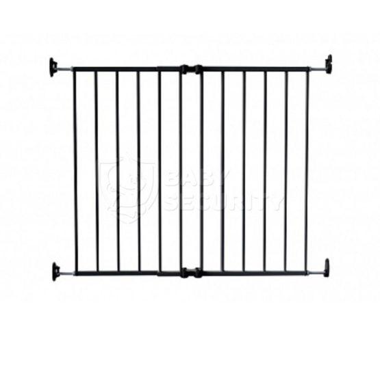 Ворота безопасности металл 64-99,4 см, графит, Safe&Care