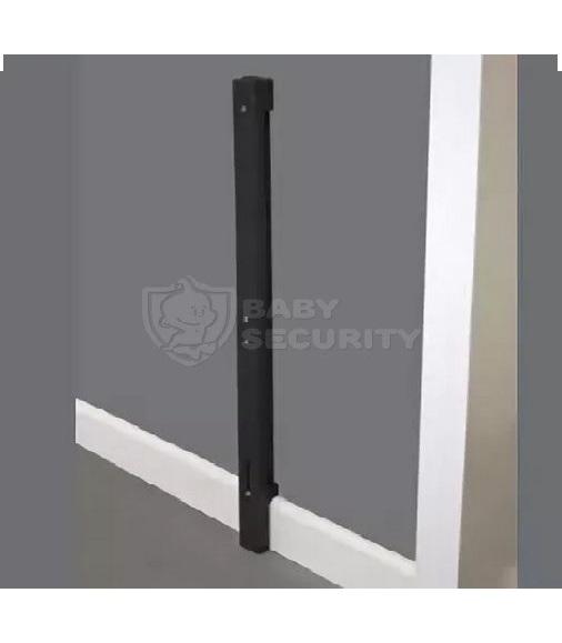 Комплект для установки ворот к стенам с плинтусом, черный, Safe&Care, арт.907-03