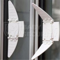 Блокиратор-бабочка для раздвижных шкафов и окон, 2 шт., арт.2349