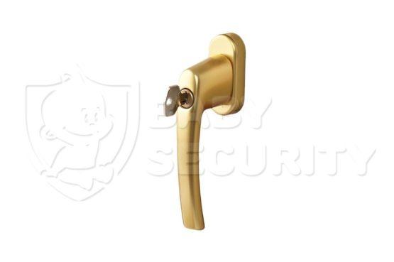 Ручка с ключом ROTOLINE, штифт 35 мм, золото,