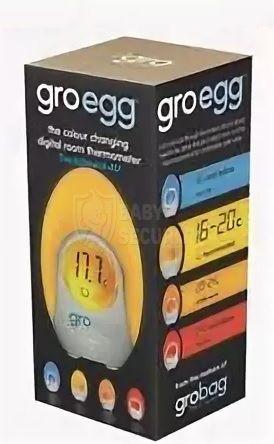 Ночник-термометр комнатный GroEGG