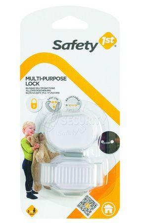 Пластиковый универсальный блокиратор, Safety 1st, белый, арт.39055760