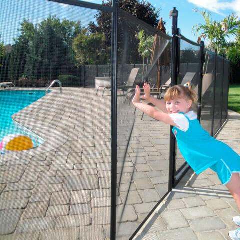 Защита у бассейна